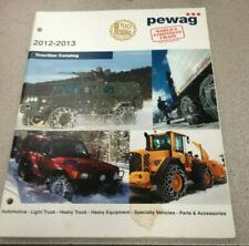 Pewag 2012-2013 Traction Catalog #812