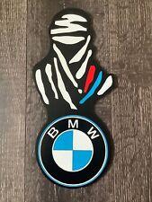 2020 DAKAR BMW CUSTOM HAND PAINTED SIGN 12 INCHES TALL