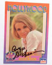 ANGIE DICKINSON  Signed Hollywood Walk of Fame Card #2