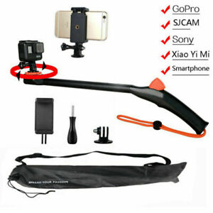 Portable Swivel Selfie Stick Mount Holder For GoPro SJCAM Xiaomi Yi Sony Camera