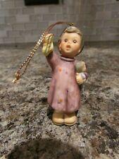 Vintage 1997 Berta Hummel Goebel Ceramic Christmas Ornament * Stocking for Dolly