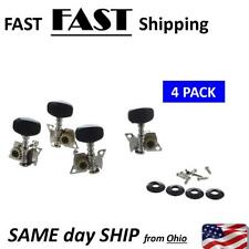4Pcs Ukulele Guitar and Small 4 String Guitar Tuning Pegs Machine Heads