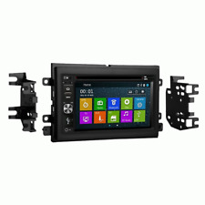 LINCOLN 2005-2010 M-SERIES GPS BLUETOOTH NAVIGATION RADIO WITH FULL DASH KIT