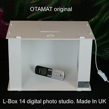 "L-Caja 14"" Pro Luz De Foto Caja Digital Estudio Cubo Tienda Profesional > otamat UK <"