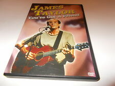 NEW DVD All Region JAMES TAYLOR You've Got a Friend Guitar Music FAST POSTAGE