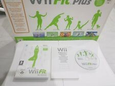 Nintendo Wii Fit Balance Board with Box ,  Manual  Wii Fit & Wii Fit plus Game