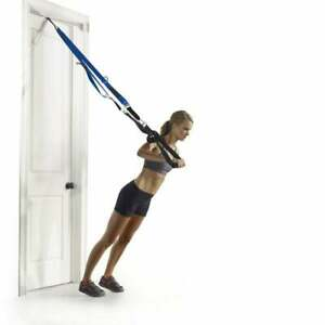 PRO FORM TRX BODY SUSPEND WEIGHT TRAIN BAND HOME EXERCISE WORKOUT INCLUDING DVDS