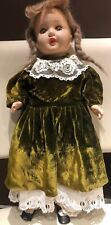 Antique 1920's doll mama Composition Open close eyes