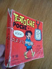 ** TOTOCHE POCHE N° 1 **  VAILLANT BD PETITS FORMATS TABARY