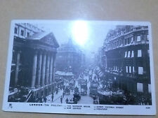1911 Used POSTCARD-THE POULTRY,MANSION HOUSE,QUEEN VICTORIA ST.,BOW CHURCH+STAMP