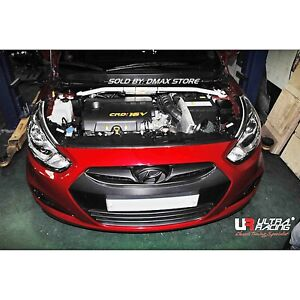 FOR '10 ACCENT RB 2WD 1.6D HYUNDAI ULTRA RACING 2 POINTS FRONT STRUT TOWER BRACE