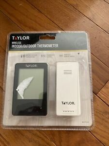 Taylor 1730 Wireless In/Out Thermometer W/Remote