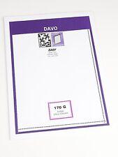 DAVO EASY BLACK Self-Adhesive MOUNTS Z170