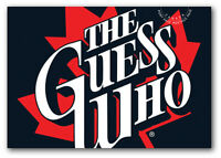 THE GUESS WHO = Canadian recording artists = Postage-paid POSTCARD Canada 2013