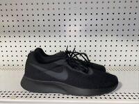 Nike Tanjun Mens Athletic Running Training Shoes Size 10.5 Triple Black