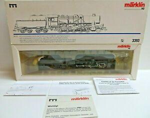 Märklin H0 3393 Tender Steam Locomotive Br 52 3604 The DRG Delta Digital Boxed