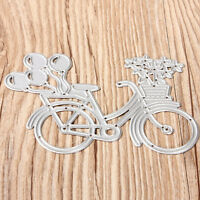 Bicycle Metal Cutting Dies Stencil Scrapbooking Papers Cards Albums PhotoCraftFG