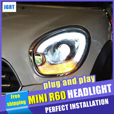 2007-2016 For MINI Cooper Countryman R60 Headlights Xenon Lens Projector LED DRL