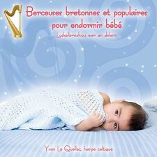 CD Brittany and popular lullabies for baby Berceuses bretonnes pour bébé IMPORT