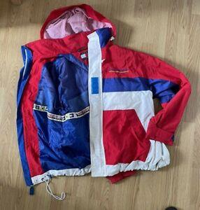 Vintage 90s Tommy Hilfiger Sailing Jacket L Mens