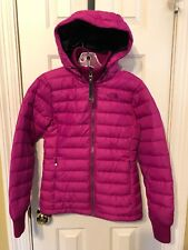 The North Face Women's XS Goose Down 600 Puffer Jacket PINK EUC Fast Ship 111823