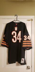 100% Authentic Walter Payton Mitchell & Ness 1975 Bears Jersey Size 56 XXXL New