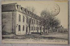 """CPA  """" TOUL - Caserne Bautzen (Annexe) - 15e Régiment du Génie - Intérieur du Q."""