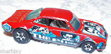 Hot Wheels Mattel Diecast Car 2003 214 VAIRY 8 THE FUZZ H W Series LOOSE