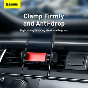 Baseus Air Vent Car Phone Holder Mount Universal Stand Cradle for iPhone Samsung