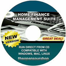 Home Finance & Personal Accounting Software Package - Easy Financial Management