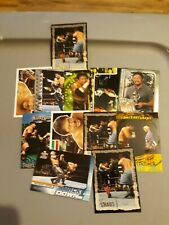 WWE WWF TAJIRI CARD LOT JAPANESE BUZZSAW GOLD INSERT