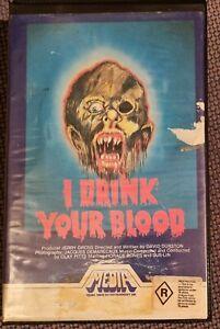 I DRINK YOUR BLOOD 70s Horror MEDIA Video BETA Rabid Satanic Hippie Fun