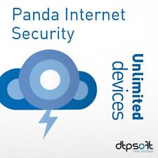 Panda Internet Security 2019 Dome Advanced Unlimited Appareils 1 An  BE EU