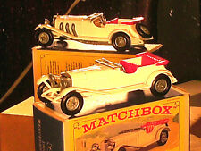 MERCEDES 36/220 1928/ YESTERYEAR Y10 MATCHBOX ORIGINAL1964 TBE+BOITE