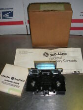 GE auxilliary contacts size 5  200 300 line CR305X500A