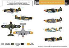 SBS Model 1/48 Morane-Saulnier M.S.406 in Finnish service decal sheet D48015