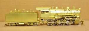 Sunset AT&SF 1900 Class 2-8-0 Santa Fe Brass HO