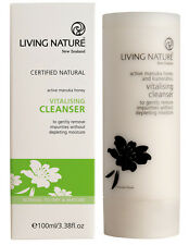 Living Nature - Vitalising Cleanser With Active Manuka Honey 100ml