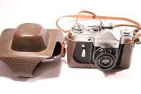 Russian Zenit  3EHNT-B 35mm Camera w Industar-50-2 3.5/50 Lens