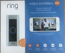 Ring Video Doorbell Pro (Existing Doorbell Wiring Required) 8VR1P6-0EN0/88LP000C