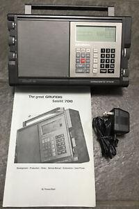 Grundig Satellit 700 Portable Digital RDS Battery Radio World Receiver