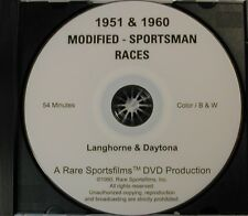 1951 and 1960 NASCAR Modified-Sportsman Races on DVD!