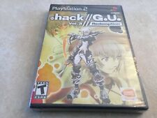 .hack//G.U.: Vol. 3 (Sony PlayStation 2, 2007) PS2 NEW