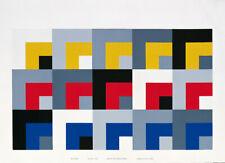 Danese Milano - Le Stanze - Stampa Serigrafica - design Enzo Mari 1958
