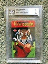 1997 Cardwon PROMO Tiger Woods MINT BGS 9 with 3 x 10 subgrades!