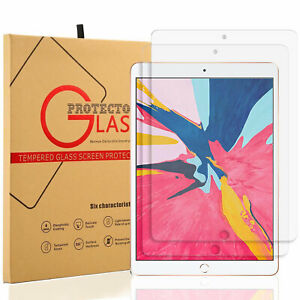 """2 PCS Tempered Glass Screen Protector for iPad Pro 12.9"""" 11"""" 10.5"""" 10.2"""" 9.7"""""""