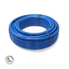 (1,54 EUR/m) 50 m Alu Verbundrohr blau 16 x 2 mit 6 mm Isolierung DVGW Mehrschic