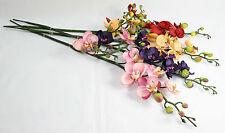 Artificial Orchid Stem - Phalaenopsis Silk Flower Spray