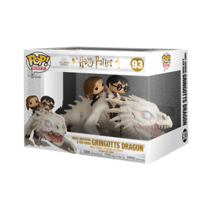 Harry Potter Dragon with Harry, Ron & Hermione Funko Pop! Ride  figure set NEW