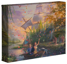 Thomas Kinkade Studios Disneys Pocahontas 8 x 10 Wrapped Canvas